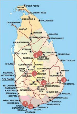 carte Sri Lanka 1